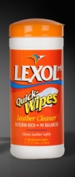 25 LEXOL LEATHER CLEANER WIPES