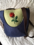 Transformer Bag Messenger Backpack Navy Green red rose Bag